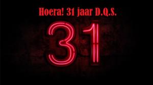 D.Q.S. bestaat vandaag 31 jaar!