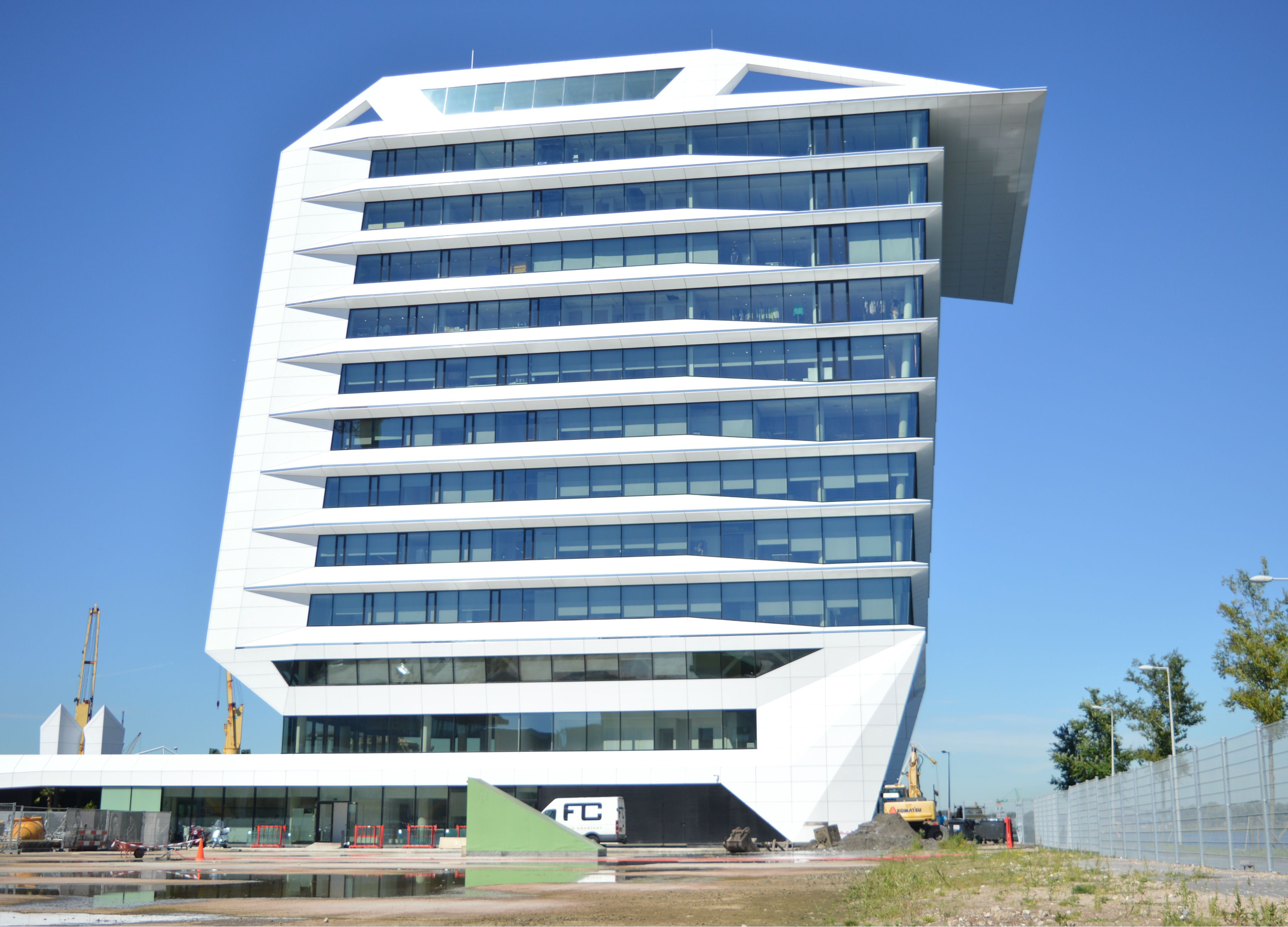 Nieuwbouw Porcellis gebouw Amsterdam
